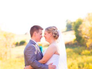 The wedding of Rachel and Kim