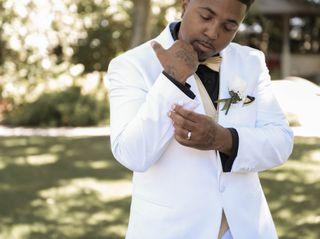 The wedding of Dwayne and Kaneha 1