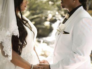 The wedding of Dwayne and Kaneha 3
