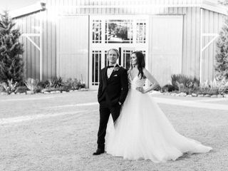 The wedding of Brittany and Paul