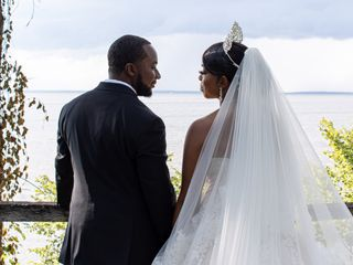 The wedding of Brittany and Davon