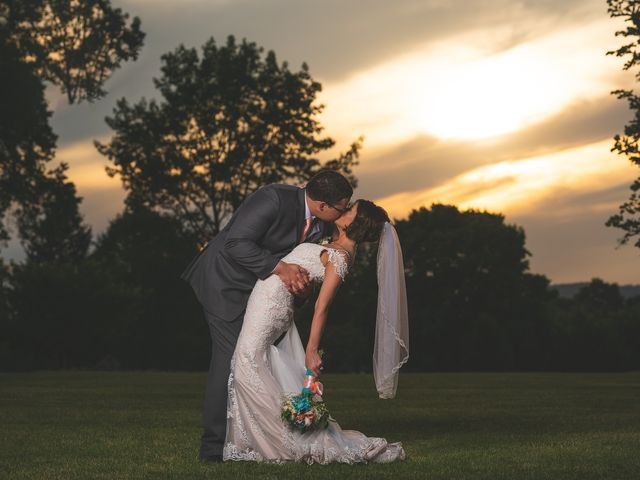 The wedding of Caitlin and Garrett