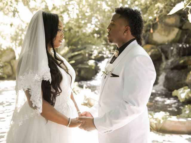 The wedding of Dwayne and Kaneha