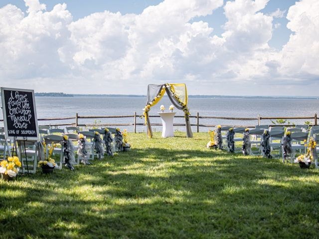 Davon and Brittany's Wedding in Chestertown, Maryland 15