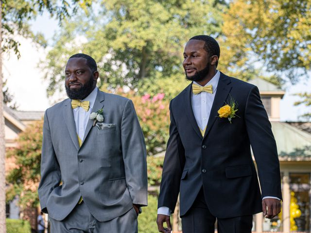 Davon and Brittany's Wedding in Chestertown, Maryland 17