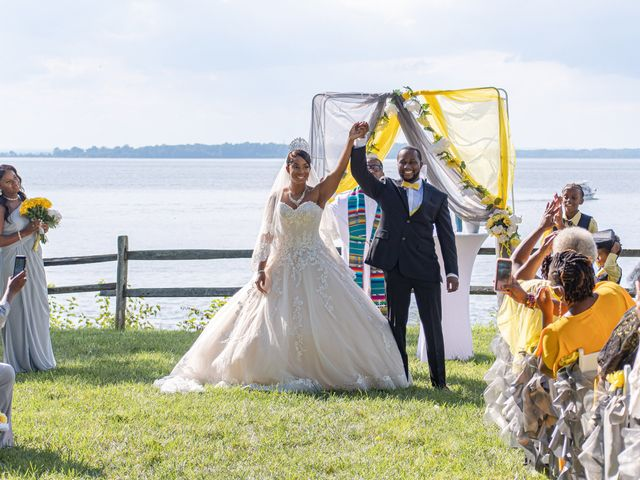 Davon and Brittany's Wedding in Chestertown, Maryland 21
