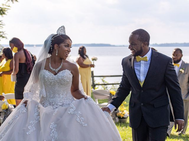 Davon and Brittany's Wedding in Chestertown, Maryland 1