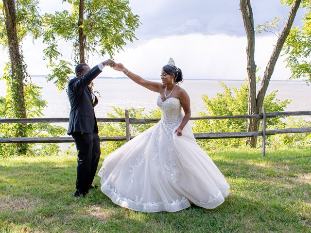 Davon and Brittany's Wedding in Chestertown, Maryland 22