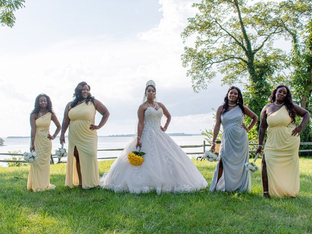 Davon and Brittany's Wedding in Chestertown, Maryland 23