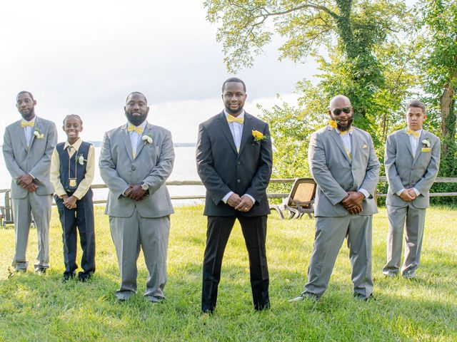 Davon and Brittany's Wedding in Chestertown, Maryland 24