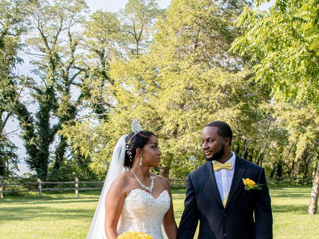 Davon and Brittany's Wedding in Chestertown, Maryland 2