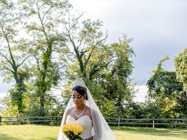Davon and Brittany's Wedding in Chestertown, Maryland 25