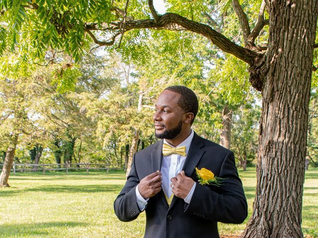 Davon and Brittany's Wedding in Chestertown, Maryland 26