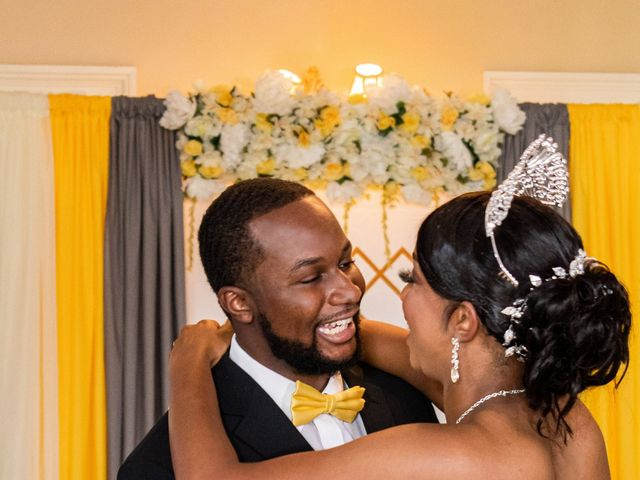Davon and Brittany's Wedding in Chestertown, Maryland 28