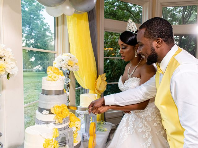 Davon and Brittany's Wedding in Chestertown, Maryland 31