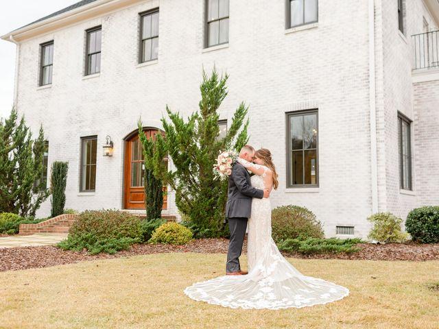 The wedding of Aubrey and Nick