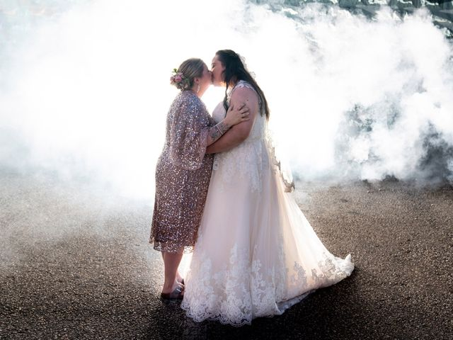 The wedding of Rose and Yesenia