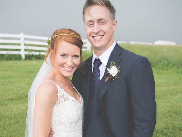 The wedding of Joshua and Aubrey