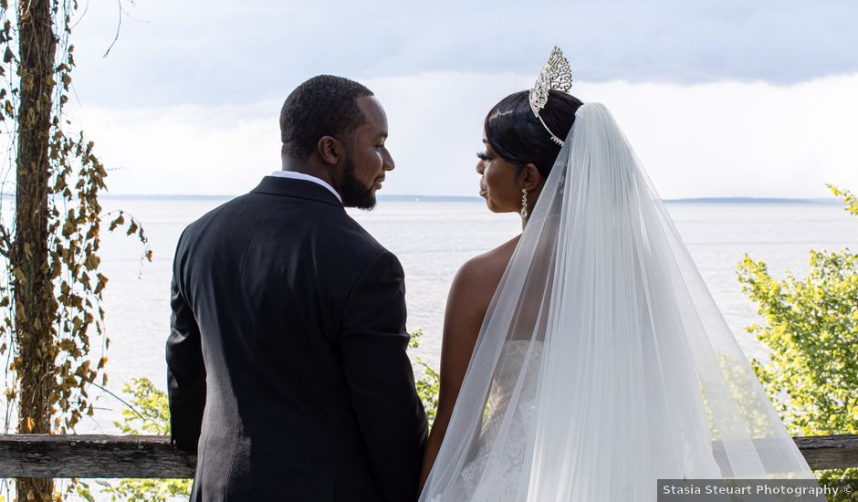 Davon and Brittany's Wedding in Chestertown, Maryland