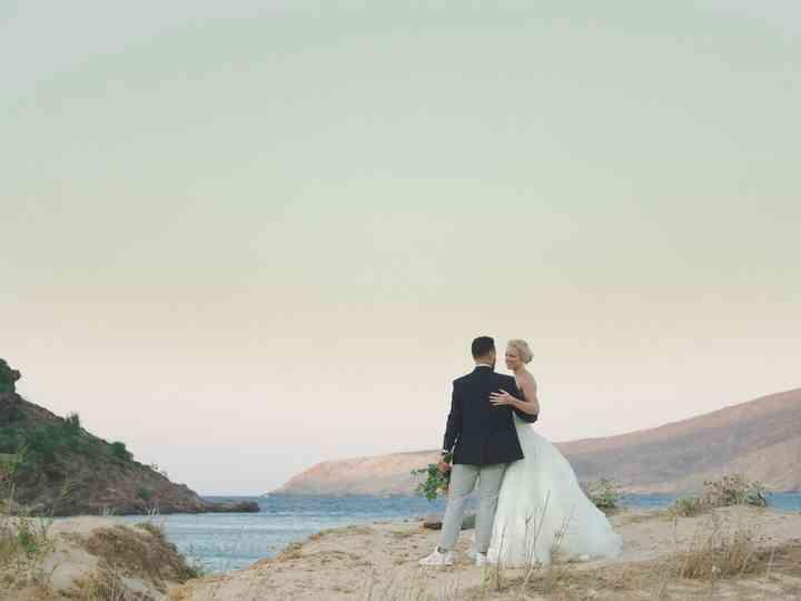 The wedding of Jad and Hannah