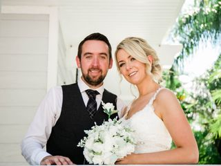 The wedding of Rachel and Ross