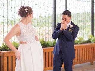 The wedding of Sawyer and Alex