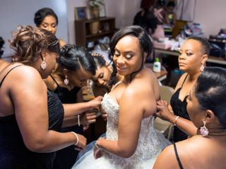 The wedding of Nicole and Naurice 1