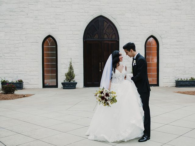 The wedding of Andrea and Jeremy
