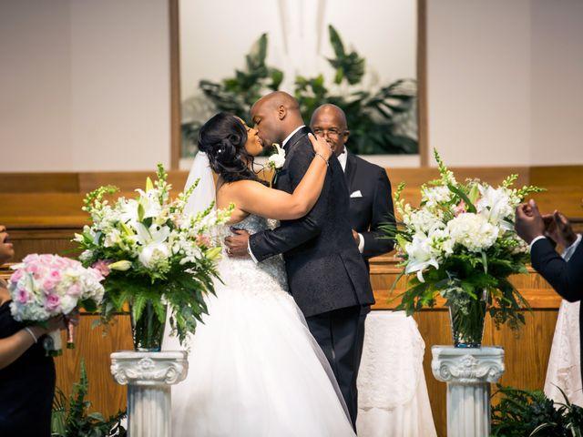 Naurice and Nicole's Wedding in Joliet, Illinois 7