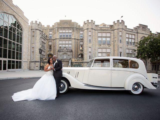 Naurice and Nicole's Wedding in Joliet, Illinois 15