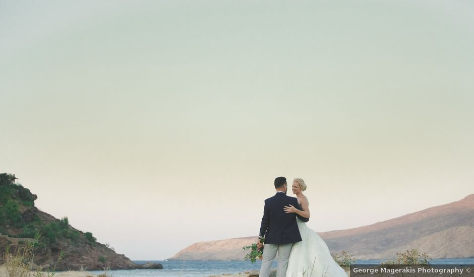 Hannah and Jad's Wedding in Mykonos, Greece