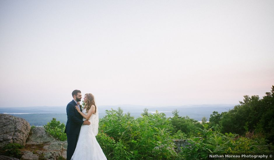 Chris and Samantha's Wedding in Moultonborough, New Hampshire