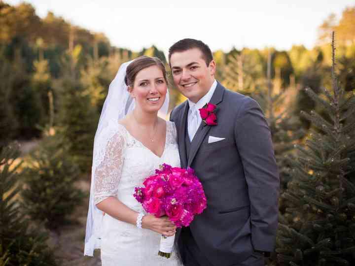 The wedding of Nick and Kalin