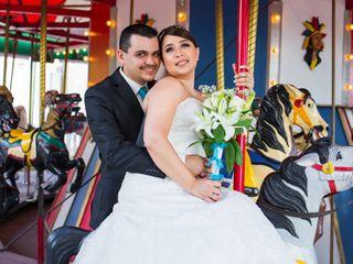The wedding of Cynthia and Eddy