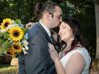The wedding of Lindsey and James