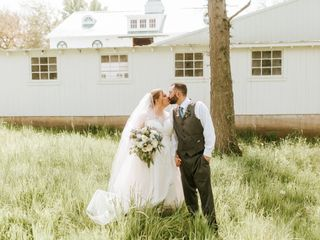 The wedding of Samantha and Robert