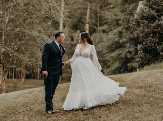 The wedding of Rachel and Dillon