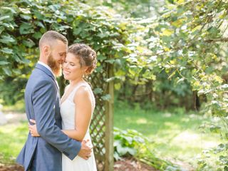 The wedding of Lanae and David