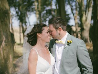 The wedding of Annie and Chris