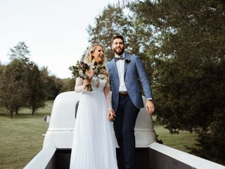 The wedding of Kenzie and Braydon