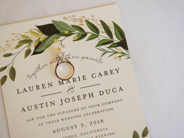 Austin and Lauren's Wedding in Calistoga, California 3