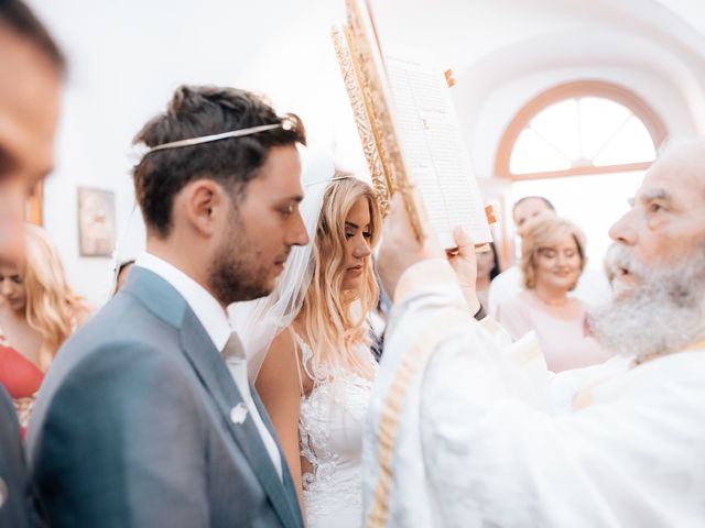 Sissy and Vangelis's Wedding in New York, New York 16