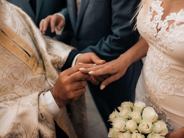 Sissy and Vangelis's Wedding in New York, New York 34