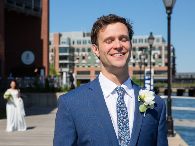 Brian and Lucy's Wedding in Baltimore, Maryland 6