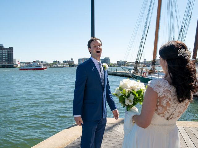 Brian and Lucy's Wedding in Baltimore, Maryland 7