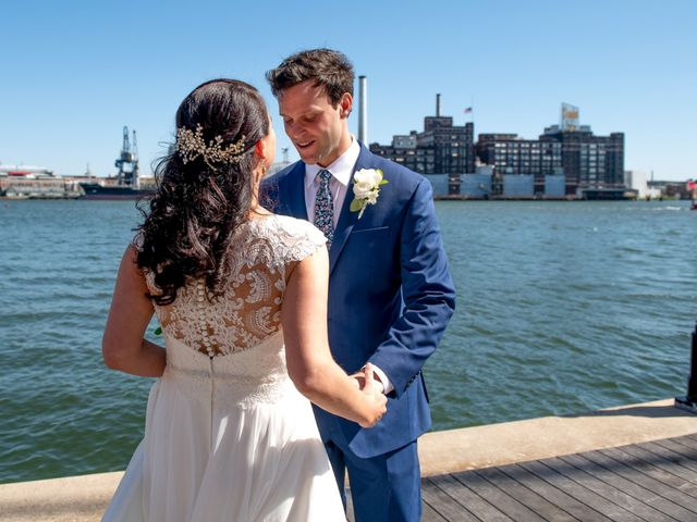 Brian and Lucy's Wedding in Baltimore, Maryland 8