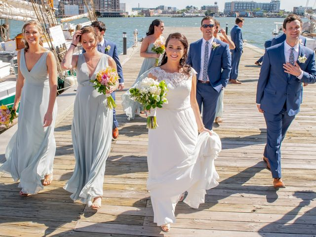 Brian and Lucy's Wedding in Baltimore, Maryland 11