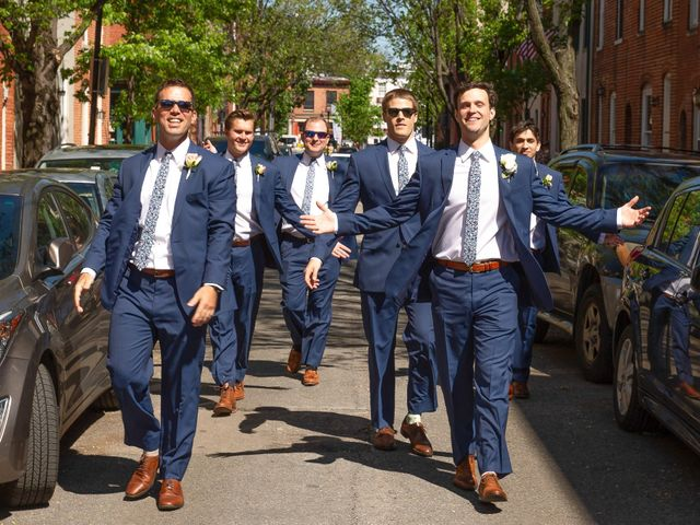 Brian and Lucy's Wedding in Baltimore, Maryland 13