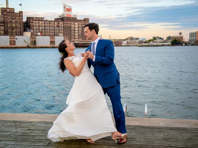 Brian and Lucy's Wedding in Baltimore, Maryland 21