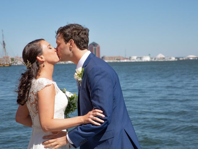 Brian and Lucy's Wedding in Baltimore, Maryland 22
